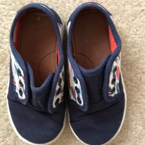 Toms Shoes - Toddler boys surf board Toms size 7